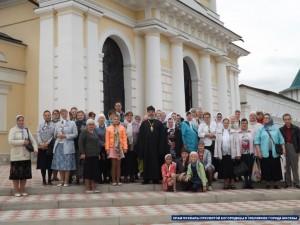 Паломники в Серпухове