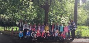 Школьники в Переделкине