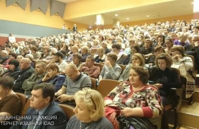 Алексей Челышев и Анатолий Выборный поговорили с жителями ЮАО о программе реновации