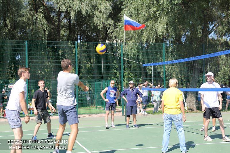 Волейбол в ЮАО
