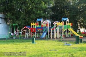 Детская площадка в Зябликове