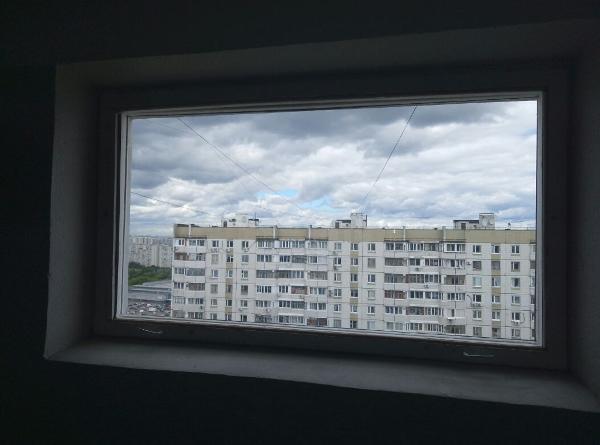 Окно после замены стекла