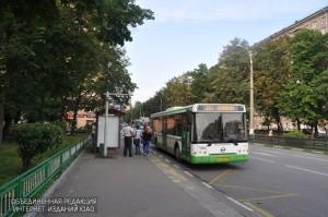 Автобус в Зябликове