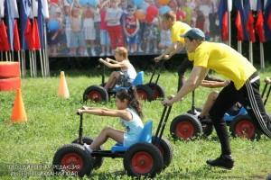 Спортивный праздник в Зябликове