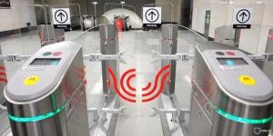 Новые турникеты в московском метро