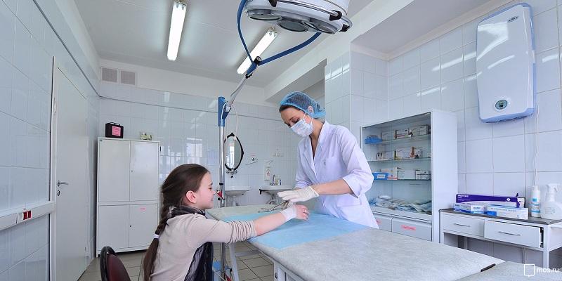 Детские поликлиники в Москве