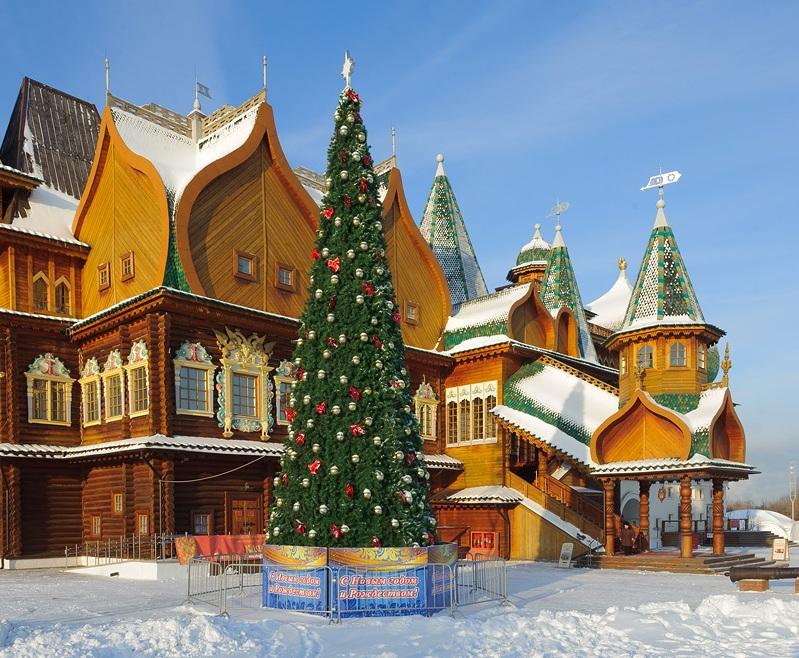 Экскурсию организуют для победителей «Новогоднего Коломенского»