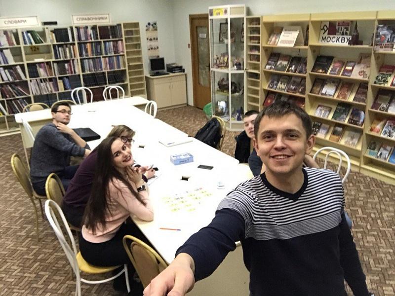 На игротеке с членами молодежной палаты
