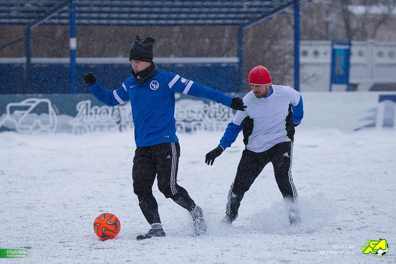 футбольный матч за Зимний кубок на Зябликово Арена