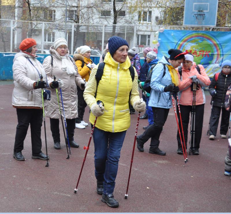 Скандинавская ходьба в ЮАО