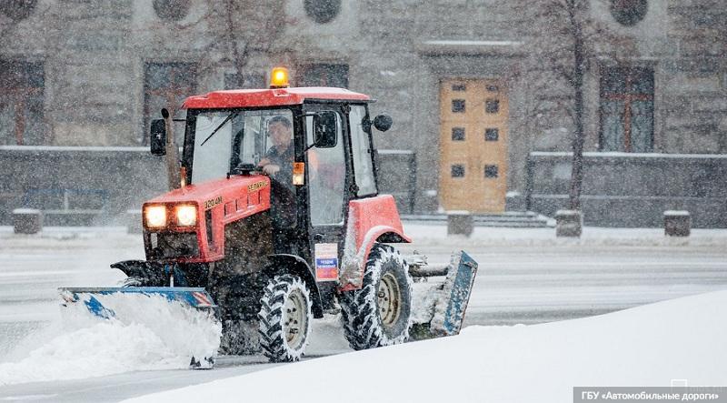 уборка снега, мосру 2811