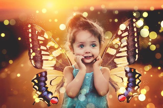 Крылья бабочки, пиксибэй , девочка, ребенок child-2443969_640