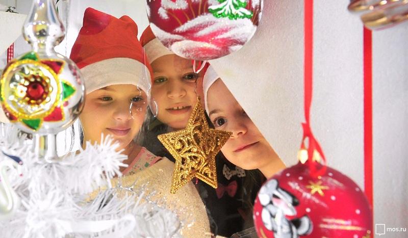 Новый год, дети, мосру 0612