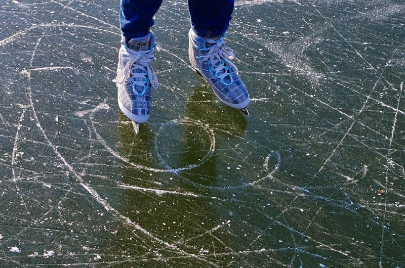 коньки, каток, лед, Зябликово. Фото к новости на 26 февраля, 2702