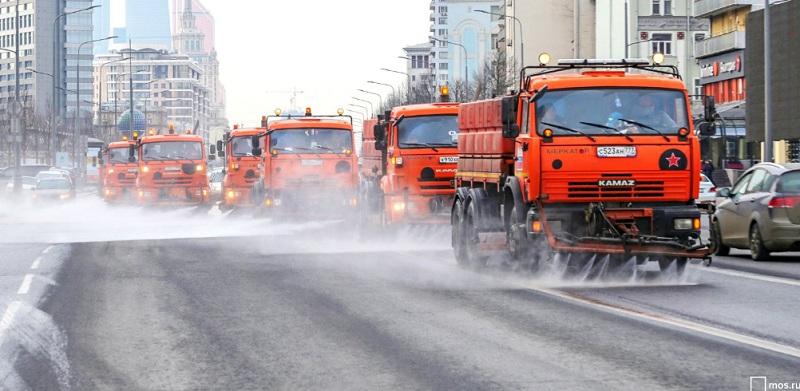 промывка дорог, мосру, 2103