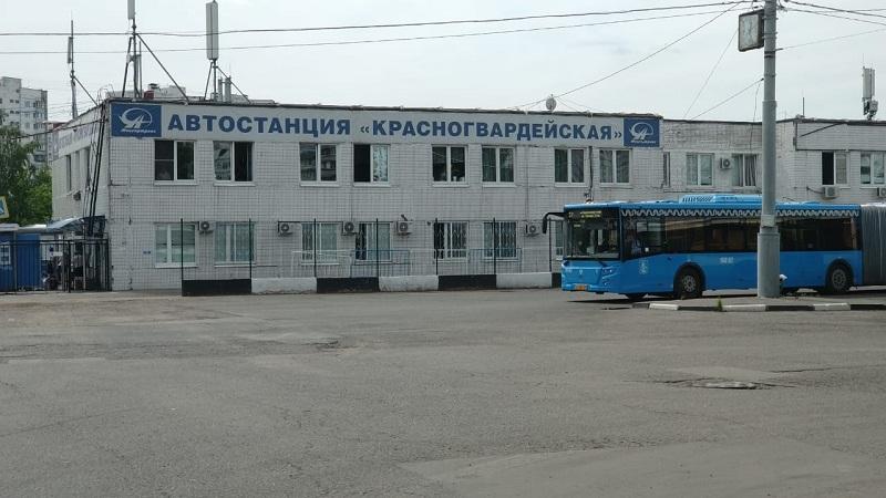 Автостанция Красногвардейская, Ореховый бульвар, 1106