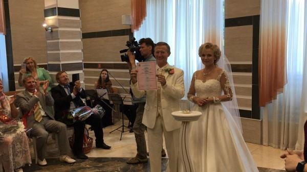 Свадьба, Московское долголетие, ЗАГС, Таболич-Пашинин, 0607 (19)