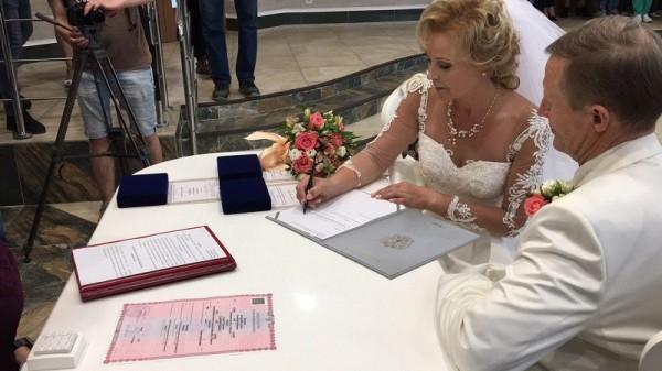 Свадьба, Московское долголетие, ЗАГС, Таболич-Пашинин, 0607 (6)