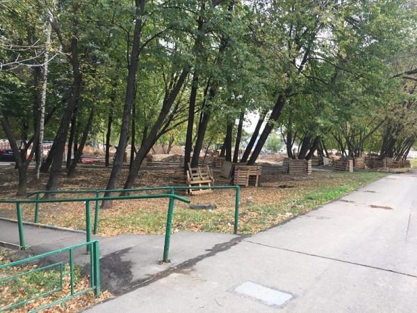 Сквер Победы, Шипиловская, благоустройство, Дзугова, 1909 (4)
