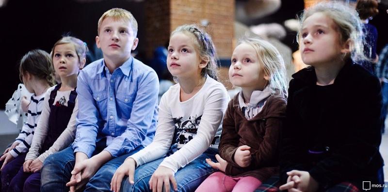 спектакль, дети, зрители, мосру, 2810