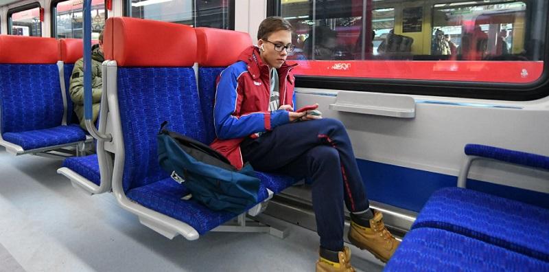 МЦД, поезд, пассажир, Иволга, мосру, 0912