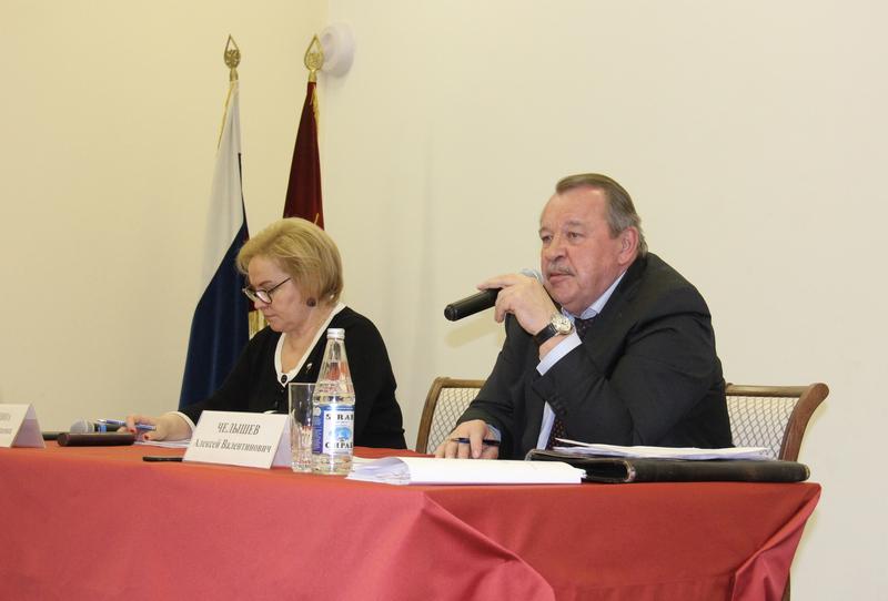встреча с префектом в БЗ Алексей Челышев и Любовь Духанина, 2712