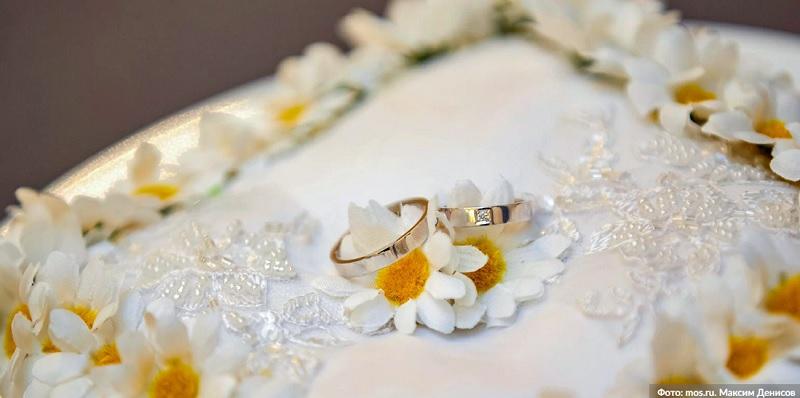 свадьба, кольца, ромашки, мосру, 1912