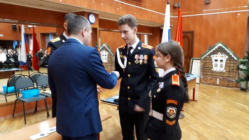 школа 2116, кадеты, Блинов, ФСБ, награждение, 2412 (2)