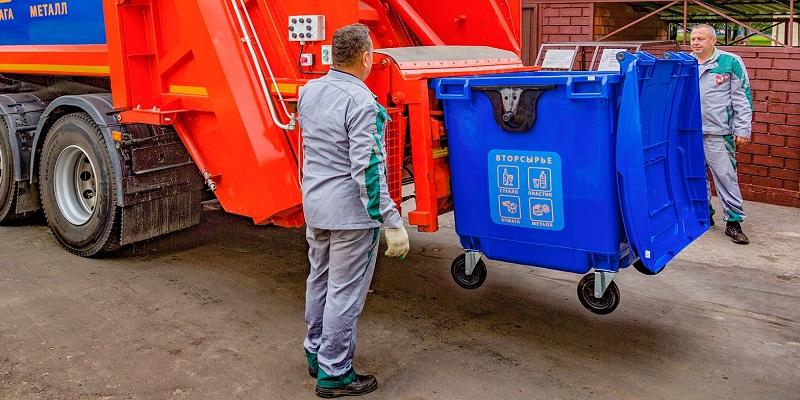 мосру мусор контейнеры