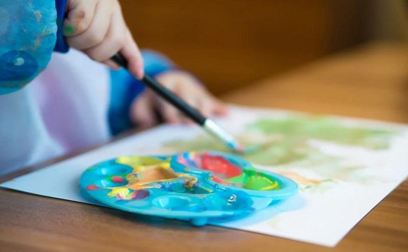 детский сад творчество краски пиксабай 2204
