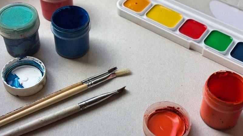 краски творчество дети 0904