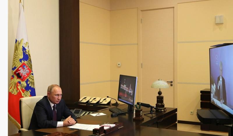 Путин, Собянин, Кремлин, 0409